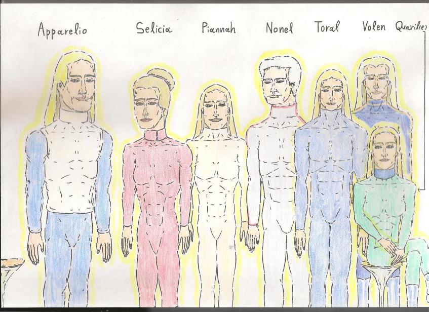 The Pleiadian crew of the Spaceship 'Angelon'   Spirit Train