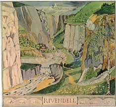 Rivendell, by JRR Tolkein