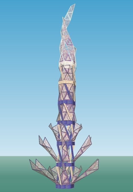 An Image of Quetzal, City of Light
